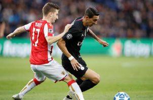 Estrella Roja perdió 6-0 ante el PSG en ese partido. EFE