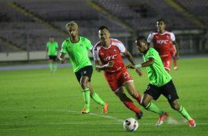 Santa Gema y San Francisco empataron a cero goles anoche en el estadio Rommel Fernández. Anayansi Gamez