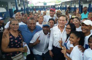 Raúl Pineda reclama que lo han echado a un lado. Foto: Panamá América.