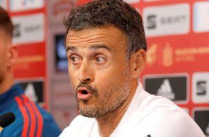 Luis Enrique, técnico español. EFE
