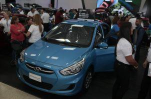 El año pasado se vendieron en la feria alrededor de 6,900 unidades de autos. Foto: Víctor Arosemena