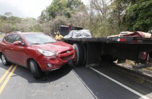 Los accidentes de tránsito son constantes en las calles del país. Archivo