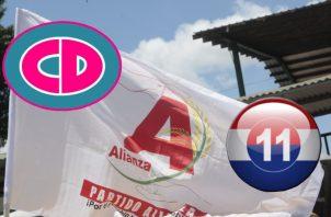 El partido, de reciente creación, tiene como candidato presidencial a José Domingo Arias.  Archivo