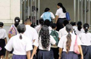 Los estudiantes serían los más perjudicados por la falta de maestros en las escuelas, el próximo año. Archivo