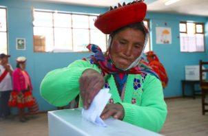 24 millones de peruanos son convocados a las urnas. EFE