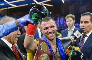 Vasiliy Lomachenko va por más el próximo año. AP