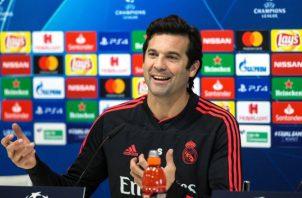 Santiago Solari, técnico del Real Madrid. EFE