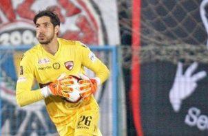 Jaime Penedo se despidió ayer de su club Dinamo de Bucarest. @jaimepenedo