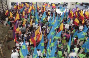 En Panamá, actualmente, existen siete partidos políticos. Archivo