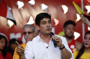 Carlos Alvarado, presidente de Costa Rica. Archivo