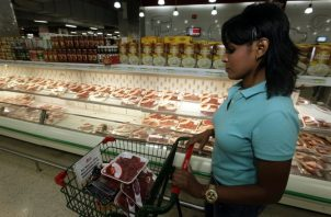 Más de seis mil toneladas de carne se importan al año a Panamá. Archivo