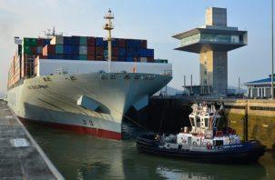 El 2018 fue un año espectacular para el Canal de Panamá, según lo califica su administración. Archivo