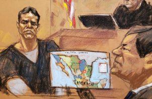 """Ayer se reanudaron las audiencias del juicio que se lleva adelante contra """"El Chapo"""" Guzmán, que fue suspendido por la Navidad."""