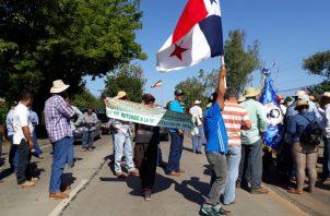 Las protestas continúan. Thays Domínguez