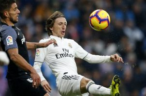 Luka Modric anotó el segundo gol del Real Madrid ante Sevilla. AP