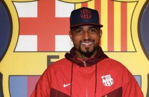 Kevin Prince Boateng es el  nuevo  fichaje del Barcelona. @FCBarcelona