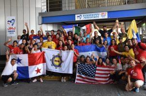 Peregrinos de la JMJ en Panamá. EFE