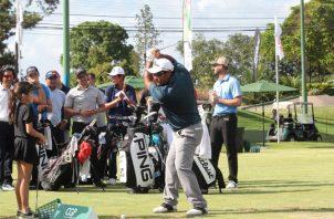 José Rodríguez jugó el año pasado en Panamá y ahora lo hace en el PGA Tour.