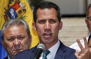 """Juan Guaidó, como """"presidente encargado de Venezuela"""". EFE"""