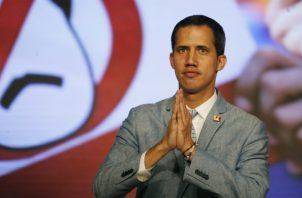 En un acto político celebrado en la Universidad Central de Venezuela, Guaidó anunció la formación del grupo de voluntarios. EFE
