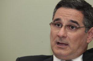 Marcos Ameglio, aspirante presidencial por la libre postulación. Archivo