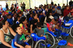 El acto se realizó en el complejo deportivo Torrijos-Carter. Cortesía
