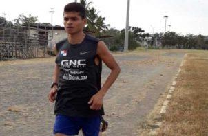 Edwin Rodríguez se prepara en Colombia. Cortesía