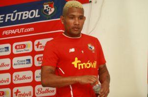Ronaldo Dinolis, delantero convocado para jugar con la Roja. Anayansi Gamez