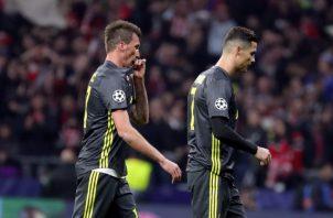 Cristiano Ronaldo no pudo hacer de las suyas en Madrid. EFE