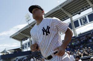 Aaron Judge, uno de los bateadores de poder de los Yanquis. AP