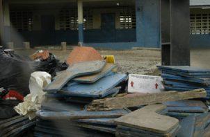 Los trabajos de mantenimiento se hacen de forma correctiva desde hace muchos años y a contrarreloj. Foto: Panamá América