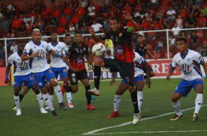 El Sporting San Miguelito ha marcado 12 tantos en lo que va del Torneo Clausura de la Liga Panameña de Fútbol. Anayansi Gamez
