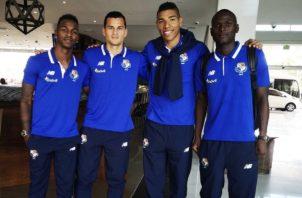 Jan Carlos Vargas y el resto de jugadores de la LPF viajaron ayer. Fepafut