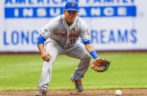 Rubén Tejada jugó seis campañas para los Mets. AP