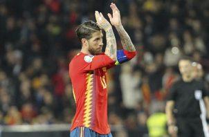 Sergio Ramos marcó de penal.