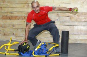 José Alberte desarrolló su sistema de entrenamiento en 2005. Anayansi Gamez