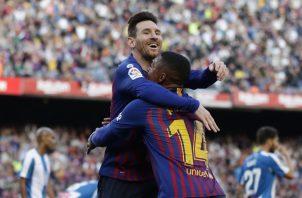 Leo Messi la volvió a romper.