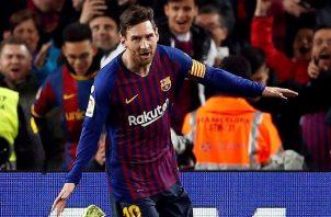Lionel Messi es el actual goleador del certamen con ocho tantos.
