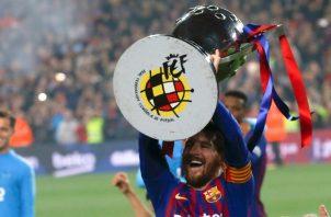 Messi fue decisivo.
