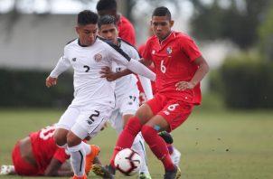 Panamá y Costa Rica empatan 2-2 en el Premundial Sub-17 de la Concacaf. Foto: @Fepafut
