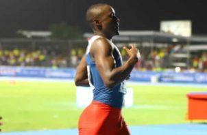 Alonso Edward es una de las opciones de medalla para los Juegos Panamericanos de Lima. Cortesía