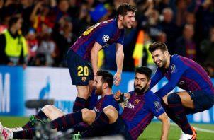 Barcelona dará descanso a sus titulares para llegar en mejor forma a la casa del Liverpool. EFE