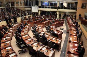 Falta cerca de mes y medio para que en la Asamblea Nacional entren nuevas caras a ocupar las curules. Foto: Panamá América