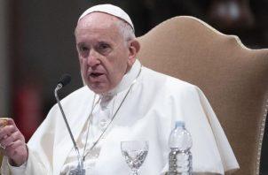 El papa Francisco siempre se ha preocupado por los temas de violencia en el mundo. Foto: EFE