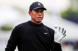 Tiger Woods jugará las primeras rondas junto a Brooks Koepka y Francesco Molinari. EFE