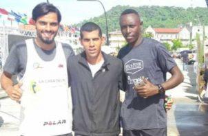 Jorge Castelblanco, ganador absoluto  de la media maratón Hidow de Panamá. Cortesía