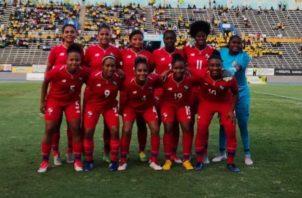 Selección femenina de Panamá. Foto:Fepafut
