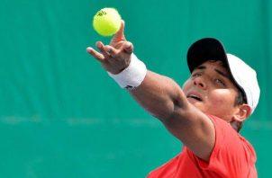 Walner Espinoza dice que por vergüenza deportiva y respeto a los que aman este deporte no competirá en la Copa Davis. Cortesía