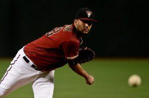 Randall Delgado debutó en el MLB en 2011. Cortesía