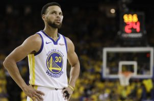 Stephen Curry de los Golden State Warriors. AP